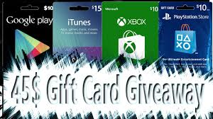 playstation gift card 10 50 gift card giveaway psn xbox play and itunes