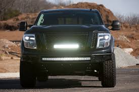 nissan truck titan modified titan titan xd coming to chicago auto show medium duty