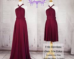 burgundy bridesmaid etsy