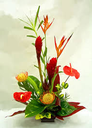 tropical flower arrangements tropical arrangements a special touch florists serving lahaina