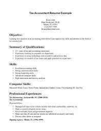 Accountant Sample Resume by Sample Resume For Accountant With Experience Resume For Your Job