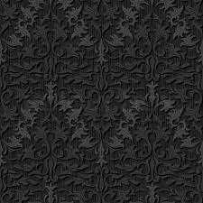 seamless black silk wallpaper pattern stock vector colourbox