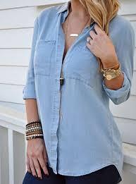 denim blouses denim shirts for cheap price