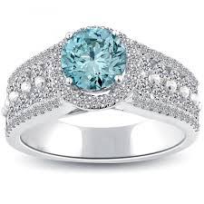 light blue rings images Cute light blue diamond rings blue ring light blue diamond jpg
