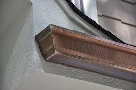 copper gutters classic gutters