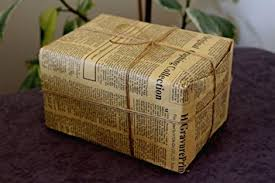 newspaper wrapping paper size wrapping paper vintage newspaper gift package paper