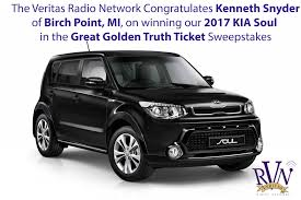 kia soul 2017 the great golden truth ticket sweepstake win our 2017 kia soul car