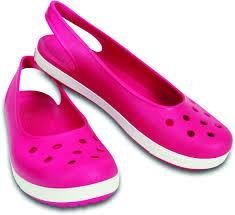 Buy Mattress Online India Flipkart Crocs Women Candy Pink White Flats Buy Candy Pink White Color