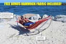 Free Standing Hammock Folding Beach Hammock Portable Travel Hammock