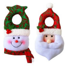 popular christmas door handle decorations buy cheap christmas door