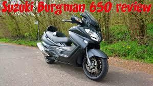 suzuki burgman 650 executive review youtube