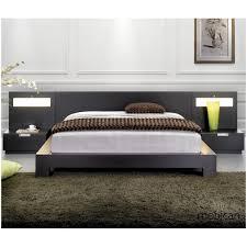 bedroom modern platform bed sets reclaimed wood platform bed