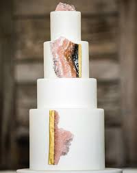 wedding cake jewelry 13 geode wedding cake ideas that are stunning purewow