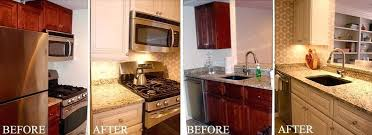 Restain Oak Kitchen Cabinets Painting Kitchen Cabinets Before And After U2013 Fitbooster Me