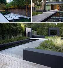 Garden Bathroom Ideas by Black Garden Wall Backyard Design Idea With Walls Designs For