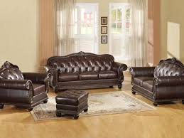Leather Brown Sofas Brown Leather Sofa Ac 150 Traditional Sofas
