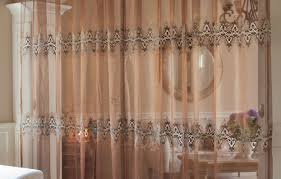 Embroidered Curtain Panels Embroidered Curtains Chevron Embroidered Curtains Grommet Top
