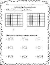 go math practice 4th grade 6 1 equivalent fractions