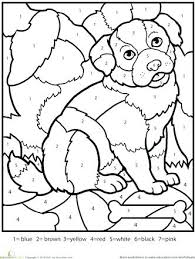 free color by number printables nzherald co