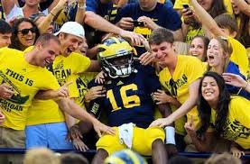 michigan wolverines fan gear michigan wolverines fans two games into season offense a bigger