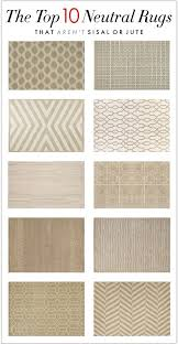 Sisal Rug Pottery Barn The Top 10 Neutral Rugs That Aren U0027t Sisal Or Jute Laura Jayson