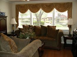 astonishing window treatments for bow windows with seat pictures