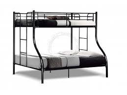 Deck Bunk Bed DD Super Single Top And Queen Bottom - Queen single bunk bed