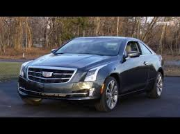 cadillac ats awd review 2015 cadillac ats coupe 2 0t awd test drive review