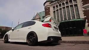 subaru sti 2016 stance tuned subaru sti on work wheels youtube
