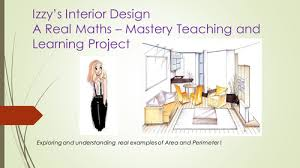 Teaching Interior Design by Perimeter And Area 3 Day Teaching Pack High Quality Mastery