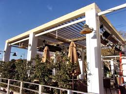 Clear Patio Roofing Materials by Restaurant Awnings Superior Awning