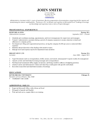 Best Resume Samples Administrative Assistant by Good Teacher Resume Examples