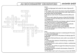huge crossword bundle covering the core topics on the first year