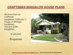 chicago bungalow house plans craftsman bungalow house plans