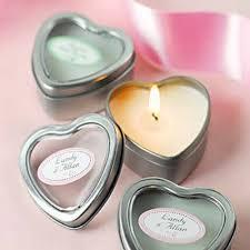 bougie personnalisã e mariage bougie mariage en forme de coeur à offrir un cadeau invité