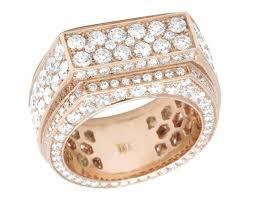 gold bands rings images 14k rose gold mens vs diamond eternity band ring 12mm 8 09ct jpg