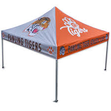 Custom Printed Canopy Tents by Custom Printed Economy Canopy Team Tent