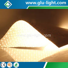 flexible led lighting film custom size length ul listed bi color hybrid ra95 waterproof flex