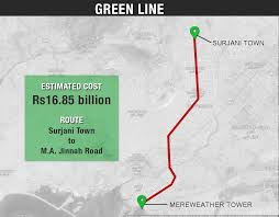 Metro Bus Routes Map by Karachi To Get Green Line Bus Service By Year End U2013 Wali Zahid