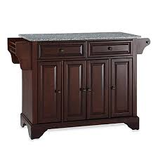 crosley kitchen island crosley lafayette granite top kitchen island bed bath beyond
