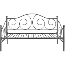 Metal Daybed Frame Victoria Metal Daybed Twin Multiple Colors Walmart Com