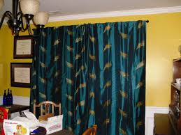 Teal Patterned Curtains Nursery Decors U0026 Furnitures Vintage Floral Curtains Also