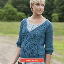 s sweater patterns top 5 free aran knits for loveknitting