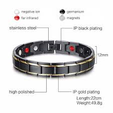 germanium magnetic health bracelet images Magnetic therapy bracelet sophgent jpg