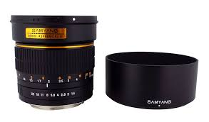 halloween contact lenses amazon amazon com samyang sy85m c 85mm f1 4 fixed lens for canon