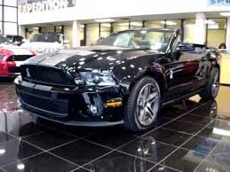 2010 mustang gt500 price 2010 ford mustang shelby gt500 cobra black convertible loaded