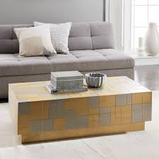 streamline coffee table west elm metal patchwork coffee table salon pinterest metals coffee