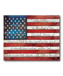 I Pledge Of Allegiance To The Flag Look What I Found On Zulily Pledge Of Allegiance Flag Wrapped
