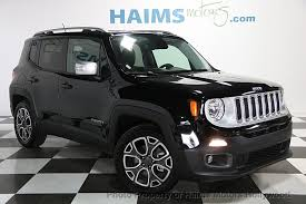 jeep renegade used 2017 used jeep renegade limited fwd at haims motors serving fort