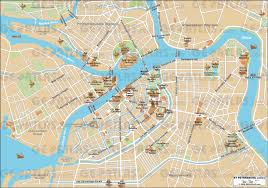 City Map Of New Orleans by Geoatlas City Maps St Petersburg Map City Illustrator Fully